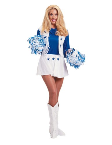 Dallas Cowboy Cheerleader Md Halloween Costume
