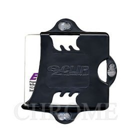 EZ-Pass Clip Electronic Toll Tag Holder for E-ZPass / i-Zoom / i-Pass - BLACK