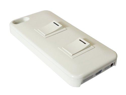 iPhone5 パチパチスイッチケース (ホワイト)