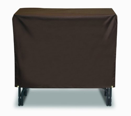 Two Dogs Designs 48-Inch Log Rack Cover, Chocolate Brown