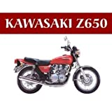 F2008 KAWASAKI Z650 NOSTALGIC METAL FRIDGE MAGNET SIGN