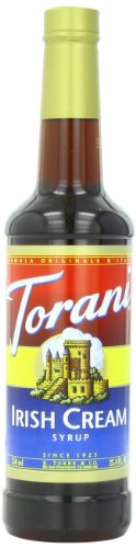 Torani Syrup, Irish Cream, 25.4 Ounce (Pack Of 4)