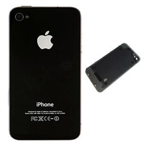 Iphone 4 Back glass cover (Black)