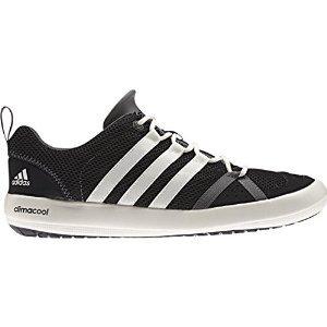 Adidas Climacool Boat Lace Shoe - Men's Black / Chalk / Sharp Grey 7