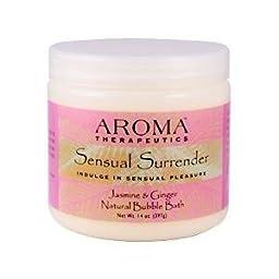 Aroma Therapeutics Sensual Surrender Natural Bubble Bath - Jasmine & Ginger