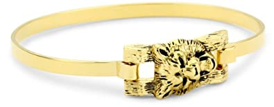 Jenny Bird Hear Me Roar Lion Bangle Bracelet