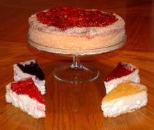 New York Style Plain Cheese Cake
