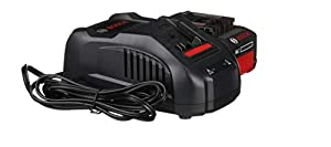 Bosch 18V Starter Kit with CORE18V Battery and Charger GXS18V-01N14 (Color: Black)