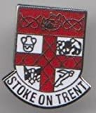 Stoke on Trent Staffordshire City Crest Pin Badge