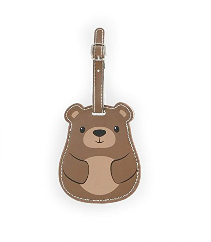 kikkerland-bear-luggage-tag
