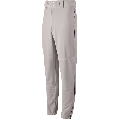 Mizuno Premier Piped Adult Pant - Small Gray