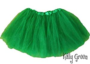 Girls Ballet Tutu Kelly Green by Southern Wrag Company