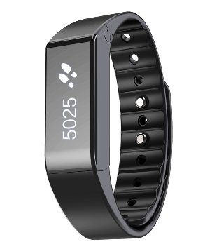 Vidonn X6S Bluetooth Fitness Tracker Smart Wristband - Black