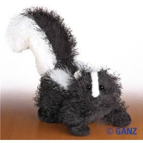 Webkinz Large Skunk August 2008