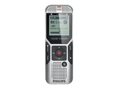 Philips Dvt1700/00 Digital Voice Tracer Recorder With Dns11 Speech-To-Text