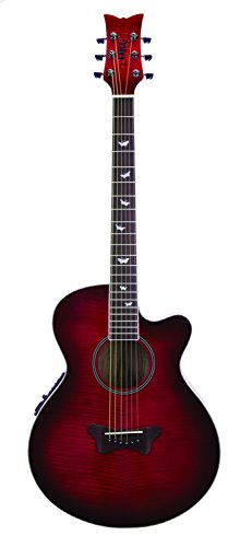 Daisy Rock Sophomore Acoustic/Electric Butterfly (Purple Flight)