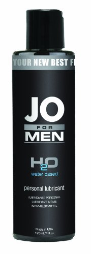 System JO for Men H2O Lubricant, 4.25 oz/125 ml