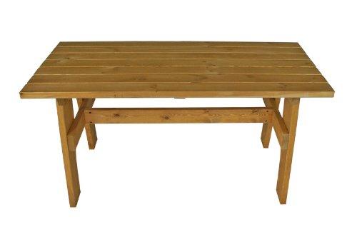 Massivholztisch FREITAL 70x120cm, Kiefer 35mm imprägniert günstig