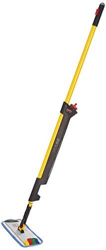 rubbermaid-pulse-wischmopp-set-mit-einseitiger-halterung-und-2-mopps-gelb