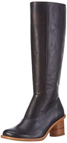 NeosensDEBINA - Stivali alti Donna , Nero (Schwarz (EBONY)), 39