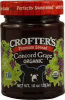 Crofters Organic Fruit Spread Concord Grape --