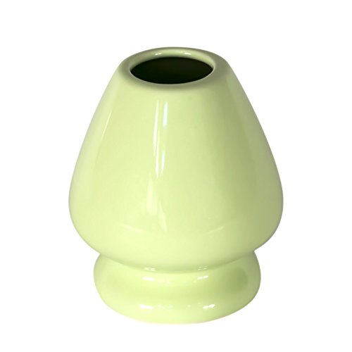Check Out This KENKO - Matcha Whisk Stand - GREEN - Ceramic Holder for Bamboo Matcha Chasen - BEST J...