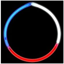 Glow Necklace Tri Color Tube of Fifty