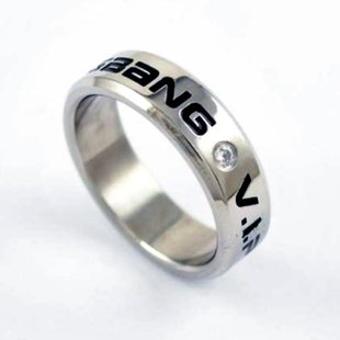 BIGBANG VIP engraved ring ring pendant top (japan import)