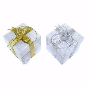 Holiday Gift Box, Christmas Ornament  Color Changing