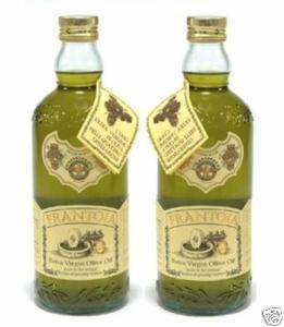Frantoia Extra Virgin Olive Oil, 2X1 Liter; Italian, Barbera by Frantoia Barbera
