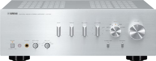 Yamaha Amplifier parallel push-pull configuration Silver A-S700 ...