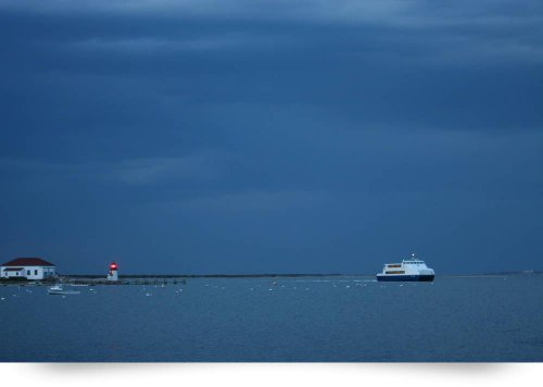 Nantucket Harbor Ferry Img 7388 (Giclee Art Print), George Riethof front-957174