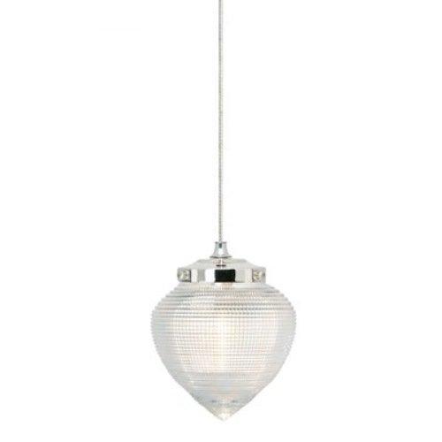 Wilmette Lighting 600Fjvbncn-Led Van Buren 1Lt 12-Volt Freejack Led Pendant, Polished Nickel Finish With Clear Glass