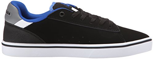DC Men's Notch Skate Shoe, Black/Blue, 8.5 M US
