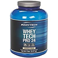 BodyTech Whey Tech Pro 24 Cookies & Cream Powder (5-Pound)
