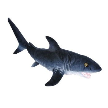 Adventure Planet Plush - Printed Great White Shark (24 Inch) front-467818