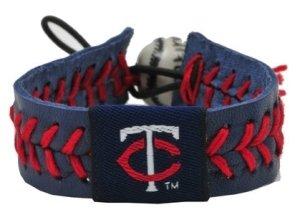 Minnesota Twins Team Color Baseball Bracelet