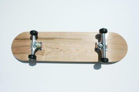 Blank Skateboard Complete Complete Skateboard Natural