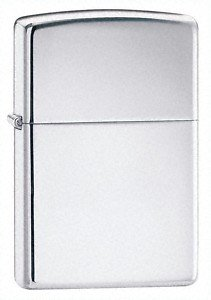 eCobbler Genuine Plain Silver Colour Zippo Lighter Engraved Free