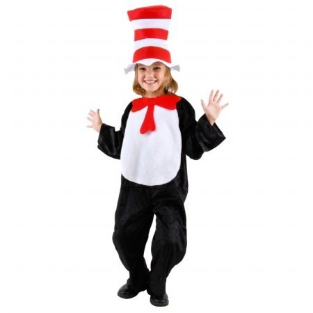 Elope Kids 218009 Dr. Suess Cat In The Hat Toddler-Child Costume Toddler - 2T-4T