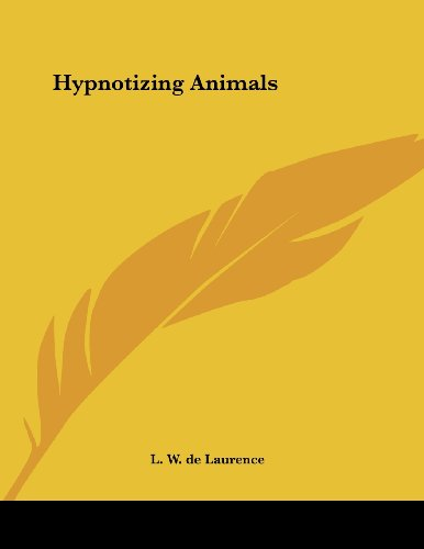 Hypnotizing Animals