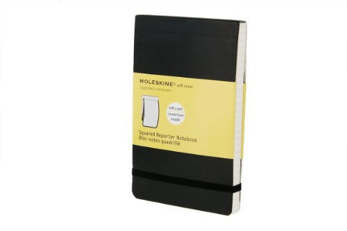31 xw 8QtKL. SL500  Moleskine Reporter Notebook, Pocket, Squared, Black, Soft Cover (3.5 x 5.5) (Reporter Notebooks)