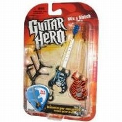 McFarlane Toys - Guitar Hero 2009 Duets série 1 pack 2 guitares Feedback Machine - 1