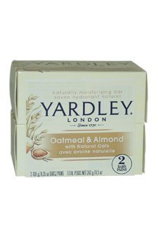 Oatmeal and Almond Bar Soap by Yardley - 2 x 4.25 oz Soap by Yardley