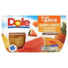 Dole Fruit Bowl Sunny Fruit In Juice 4X113g x 4