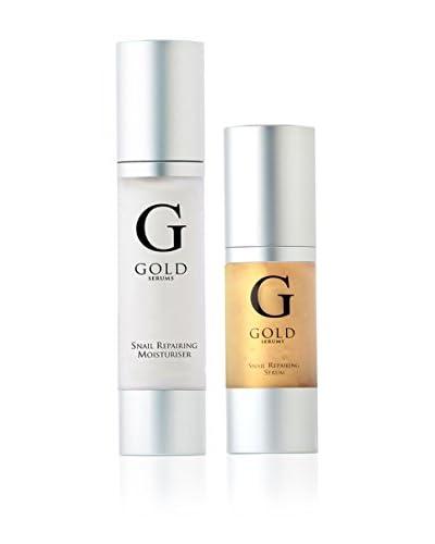 Gold Serums Reparador Facial Hidratante Baba De Caracol + Serum Reparador Baba De Caracol