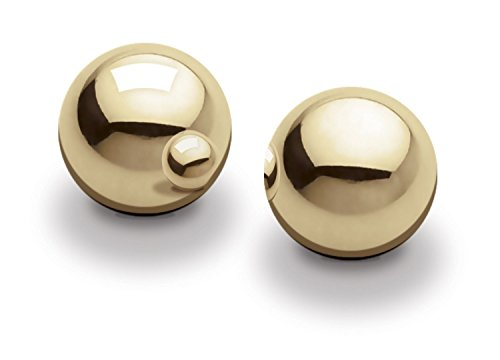 Gold Silky Smooth Kegel Ben Wa Balls - For Pleasure And For Kegel Exercises!