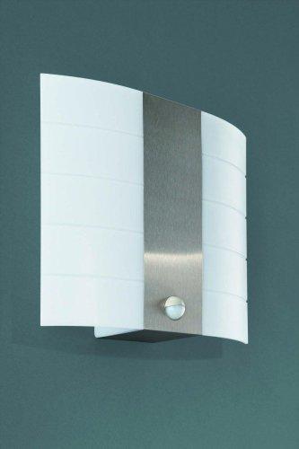 Edelstahl Außenleuchte Außenlampe Wandleuchte Wandlampe TM mit Bewegungsmelder