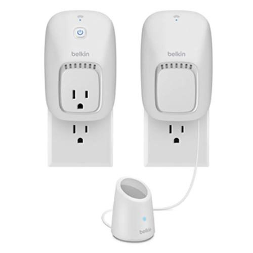 Belkin WeMo Home Automation Switch + Motion Sensor bundle for Apple iPhone, iPad, and iPod touch