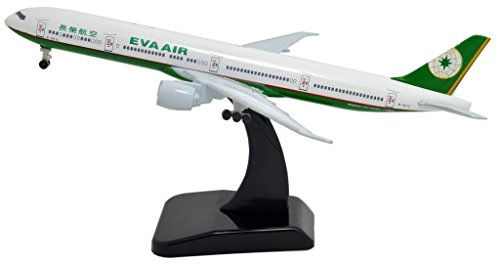 TANG DYNASTY(TM) 1:400 Standard Edition Boeing B777 TaiWai EVA Air Metal Airplane Model Plane Toy Plane Model (Eva Air Model compare prices)